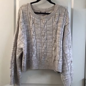 Express bell sleeve sweater